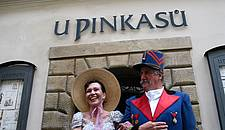 Старочешскoe пиво - Ресторан U Pinkasu 1