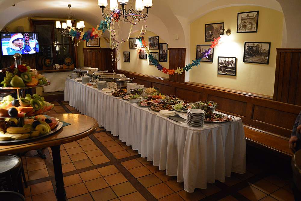 New Year´s Eve in Prague Center 1 U Pinkasu Restaurant