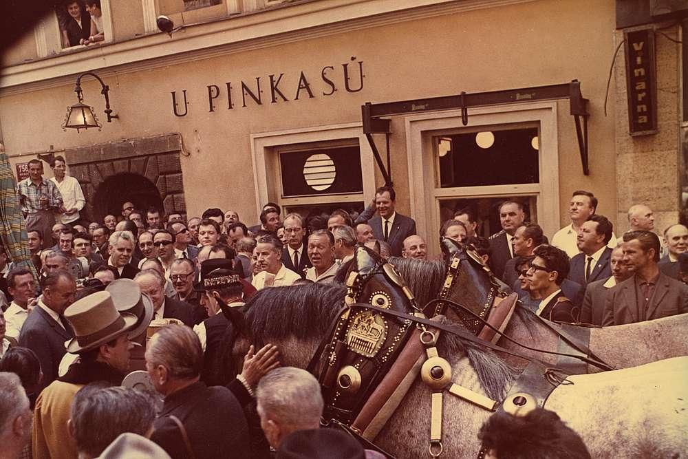 """Die Geschichte des Restaurants """"U Pinkasu"""" 3 Restaurant U Pinkasu"""