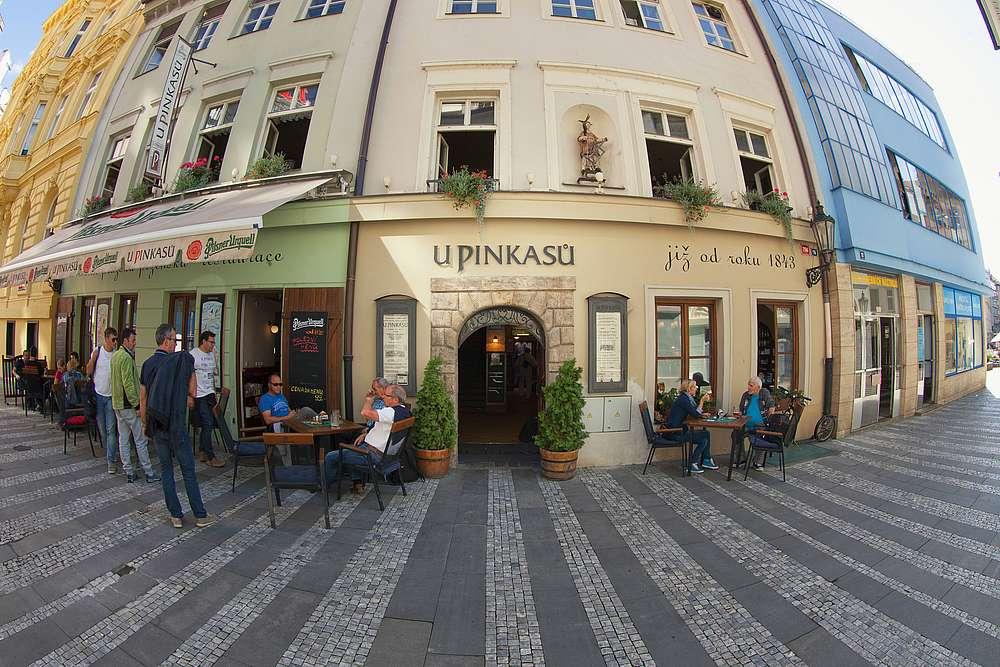 Poloha restaurace 0 Restaurace U Pinkasů